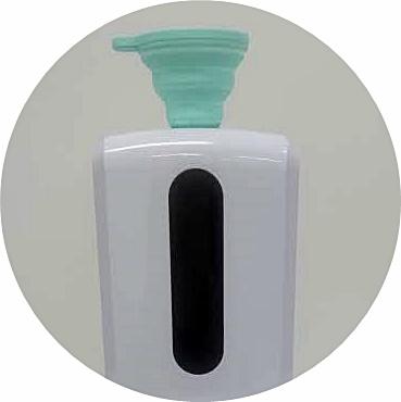 ワンアクション温度測定付きハンドクリーナーith-s07